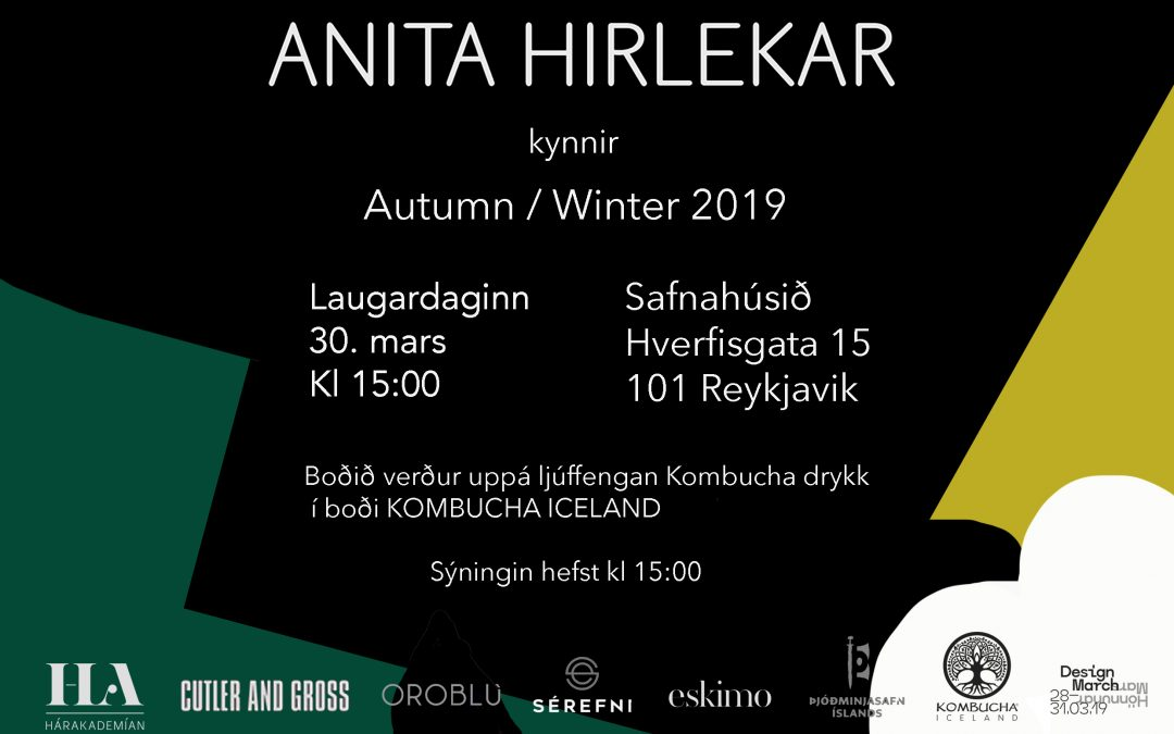 A W 19 presentation at the Culture house Reykjavik